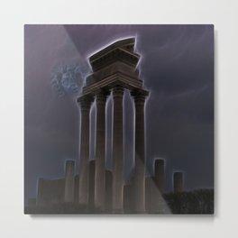 Medusa's Lightning Metal Print
