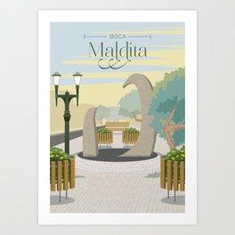 Curitiba - Boca Maldita Art Print