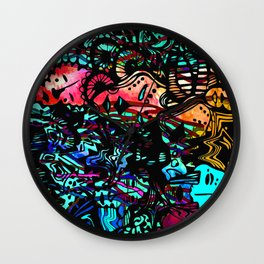 jellyface Wall Clock