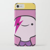 princess bubblegum iPhone & iPod Cases featuring Princess Bubblegum  by lapinette
