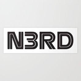N3rd Art Print
