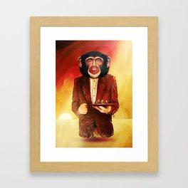 Joe Rogan Framed Art Print