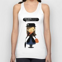 mary poppins Tank Tops featuring Mary Poppins by oyoyoi