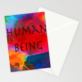 Human being- Pride Stationery Cards