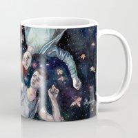 shameless Mugs featuring Sorry. I'm late. by Meuphrosyne