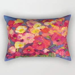 Poppy Party Rectangular Pillow