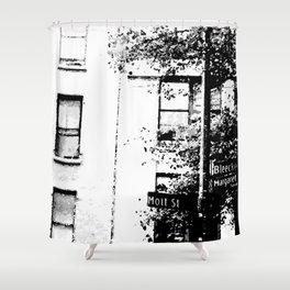 Bleecker & Mott Street Shower Curtain