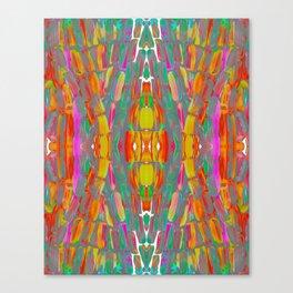 Dream Shade Sugarcane Pattern Canvas Print