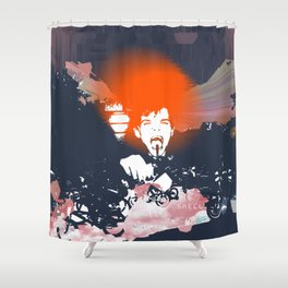 """""""Stop and Smell the Universe"""" Shower Curtain"""