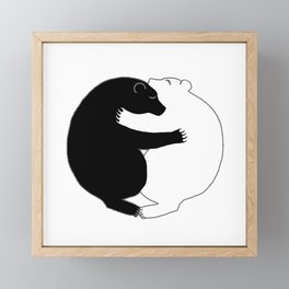 Love Makes Everything Better Framed Mini Art Print
