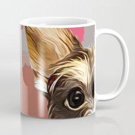 Schnauzer pop art portrait Coffee Mug