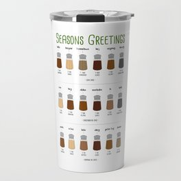 Sweet Seasons Greetings Travel Mug