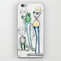 whatever iPhone & iPod Skins featuring Whatever by Jill Peterson