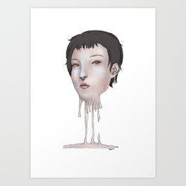 Humanitatian Issues #1 Art Print