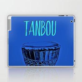 Tanbou(blue) Laptop & iPad Skin