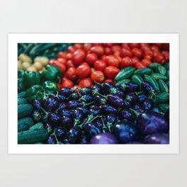 vegetables #society6 #decor #buyart Art Print