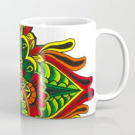 Tribal Corner Mandala Coffee Mug