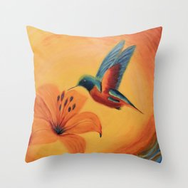 What a beauty | Qu'elle beauté Throw Pillow