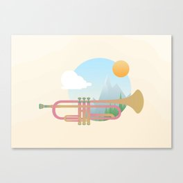 Summer Ballad Canvas Print