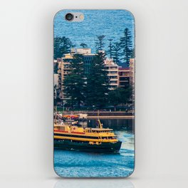 Manly Wharf, North Harbour, Sydney iPhone Skin