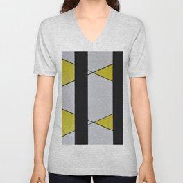 geometric II Unisex V-Neck