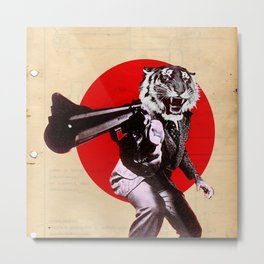 GUN OF THE TIGER Metal Print