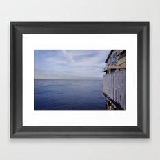 sea & dream Framed Art Print