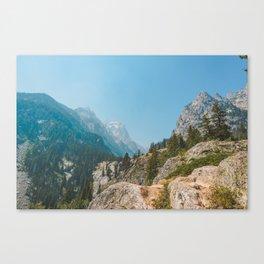 Cascade Canyon, Grand Teton National Park Canvas Print