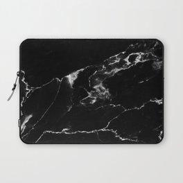 Black Marble I Laptop Sleeve