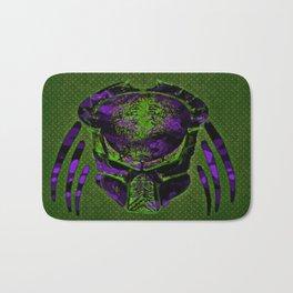 Soldier Predator Green Purple Bath Mat