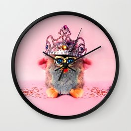 Furby Princess Wall Clock