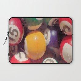 Billiard Balls Laptop Sleeve