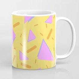 TRIANGLES AND BARS PATTERN DESIGN Coffee Mug