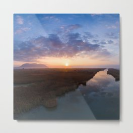 The Epic Sunrise Metal Print
