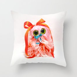 Frothy the Gnome Throw Pillow