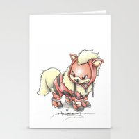 projectrocket Stationery Cards featuring K-9 Unit by Randy C