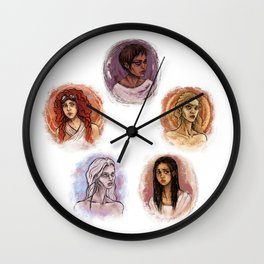 THE WIVES Wall Clock