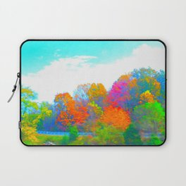 Neon Forest Laptop Sleeve