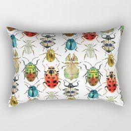 Beetle Compilation Rectangular Pillow
