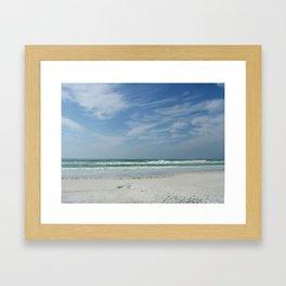 Siesta Key Framed Art Print