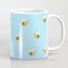 Kawaii Buzzy Bumble Bees Mug