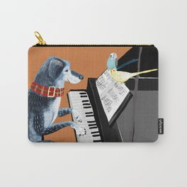 Piano lesson ( Doggy Art ) Carry-All Pouch