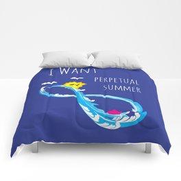 Perpetual summer Comforters