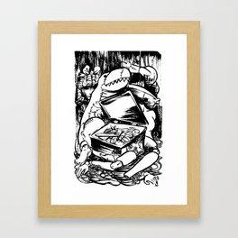 PUPPET MONSTER'S BOX Framed Art Print