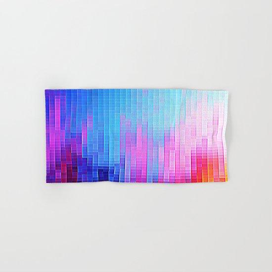 colorfuL Pixels Hand & Bath Towel