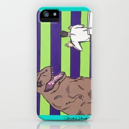 """Jurassic Park """"Died on the Shitter"""" iPhone Case"""