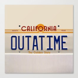 California Out A Time Canvas Print