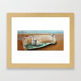 BOTTLE Framed Art Print