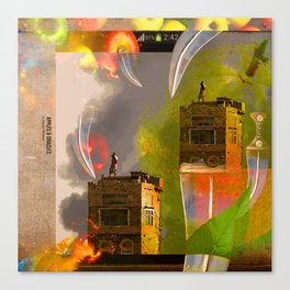 APPLES & ORACLES Canvas Print