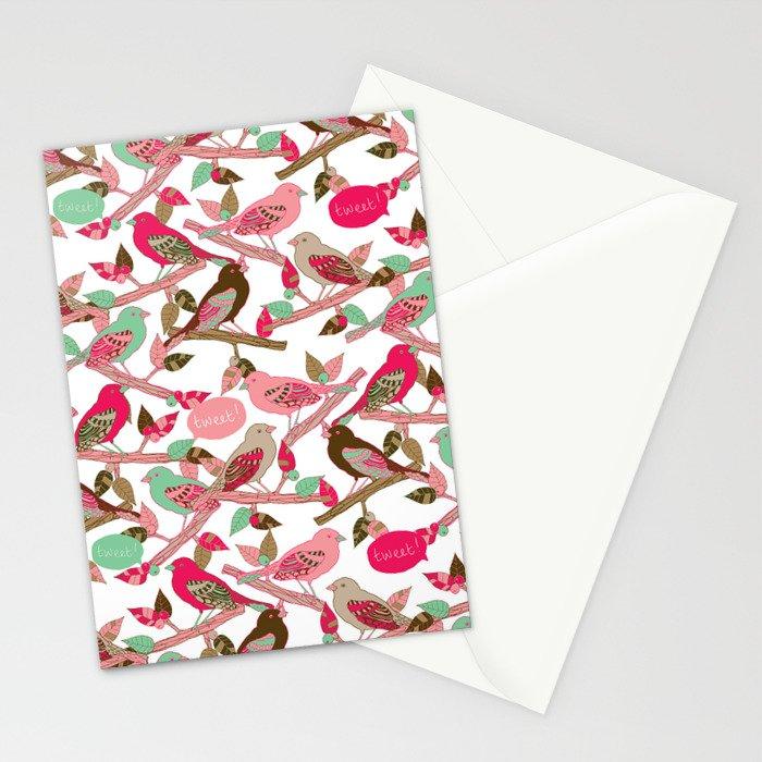 Tweet! Stationery Cards